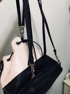 Charles and Keith bucket backpack