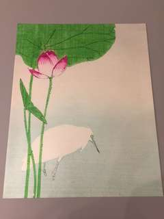 Print out painting - Japanese design inspired