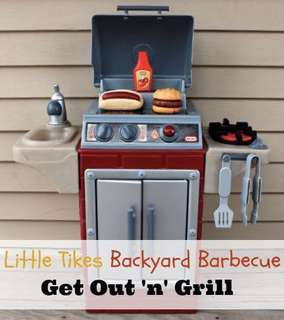 Little Tikes Backyard Barbeque Get Out N Grill