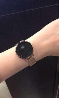 Authentic Daniel Wellington classic petite melrose watch