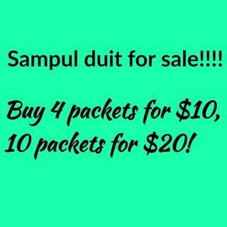 Sampul duit for sale!!