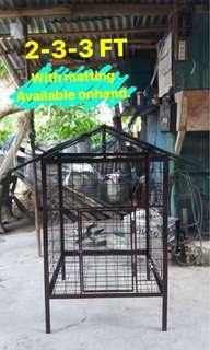 Made to order dog cage