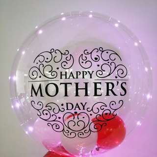 Mother's day special bubble balloon