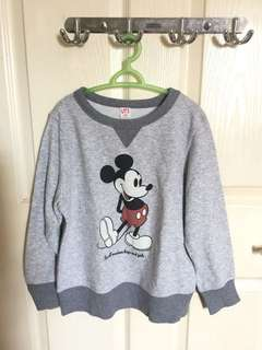 Uniqlo Mickey Mouse sweater
