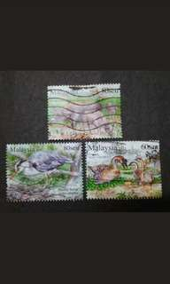 Malaysia 2015 Loose Set - 3v Used Stamps #2