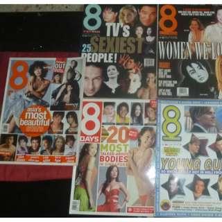 8 days vintage retro magazine