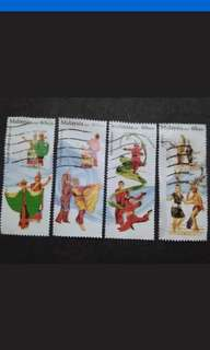 Malaysia 2016 Loose Set - 4v Used Stamps