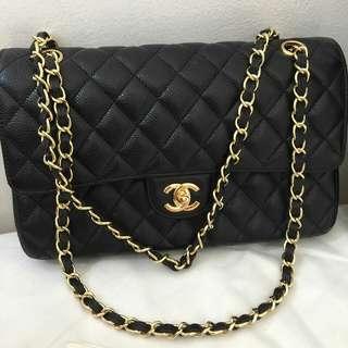Chanel double flap jumbo authentic