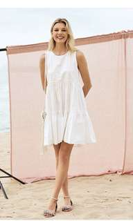 THE CLOSET LOVER LORENE DRESS (WHITE)