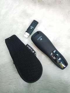 Logitech Wireless Presenter R400 pointer clicker