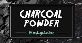 Masker Charcoal Powder