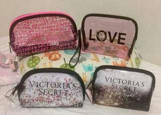 AUTHENTIC: Victoria's Secret Pouch & Wristlet