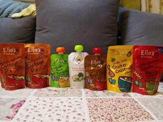 嬰兒食品 7包