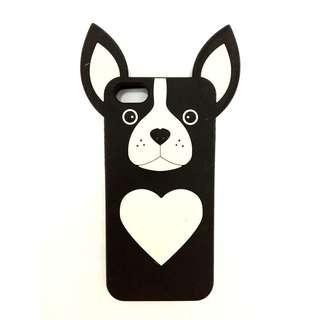 Case Iphone 5s/5c/5 Black Dog