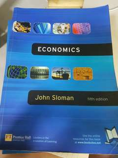 Economics: Fifth edition by John Sloman