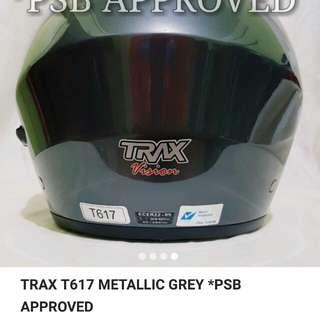 Trax metallic grey psb approved