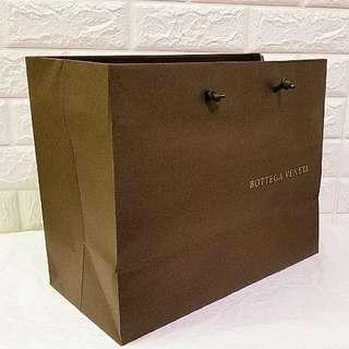 BV Bottega Veneta Paper Bag