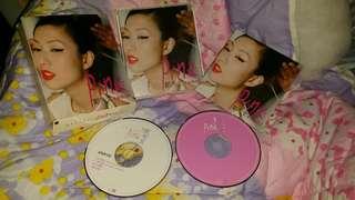 鄭秀文2001年版CD加VCD, 屯門交收,或郵寄加10$