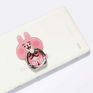【預購】台灣代購 Kanahei Pisuke Ring Holder 卡娜赫拉的小動物 P助 粉紅兔兔 手機指環 360度旋轉支架