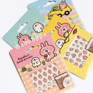 【現貨】台灣代購 Kanahei 卡娜赫拉的小動物 P助 粉紅兔兔 迷你指甲貼紙