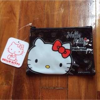 Brand New Japan Black Waterproof Hello Kitty Pouch