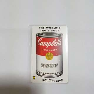 MRT Card - Campbell's Soup