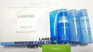 LANEIGE Moisture care trial kit