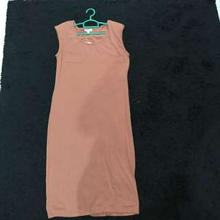Cotton On Dress - Brown