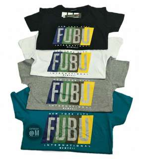 Fubu tshirt overruns