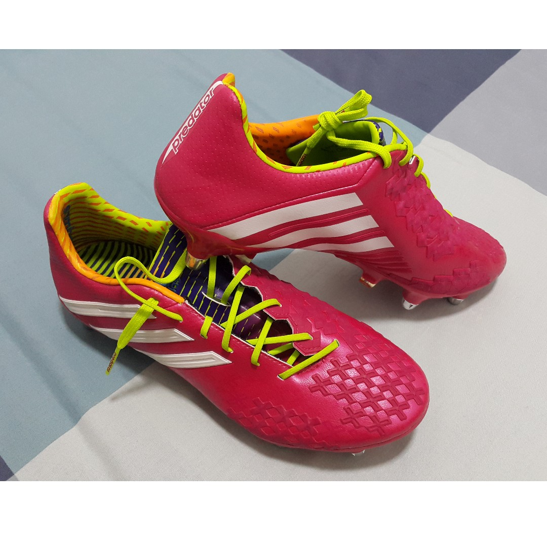 sports shoes 211a3 e0006 Adidas Predator LZ II X-TRX Football Boots (SG) - UK7