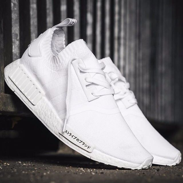 a4ff7e999 ALL SIZES AVAILABLE-FINAL STOCKS  ADIDAS NMD R1 PK TRIPLE WHITE .