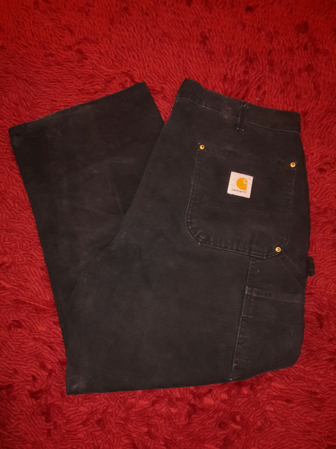 07b4c0c18 Carhartt carpenter Pants, Men's Fashion, Clothes, Bottoms on Carousell