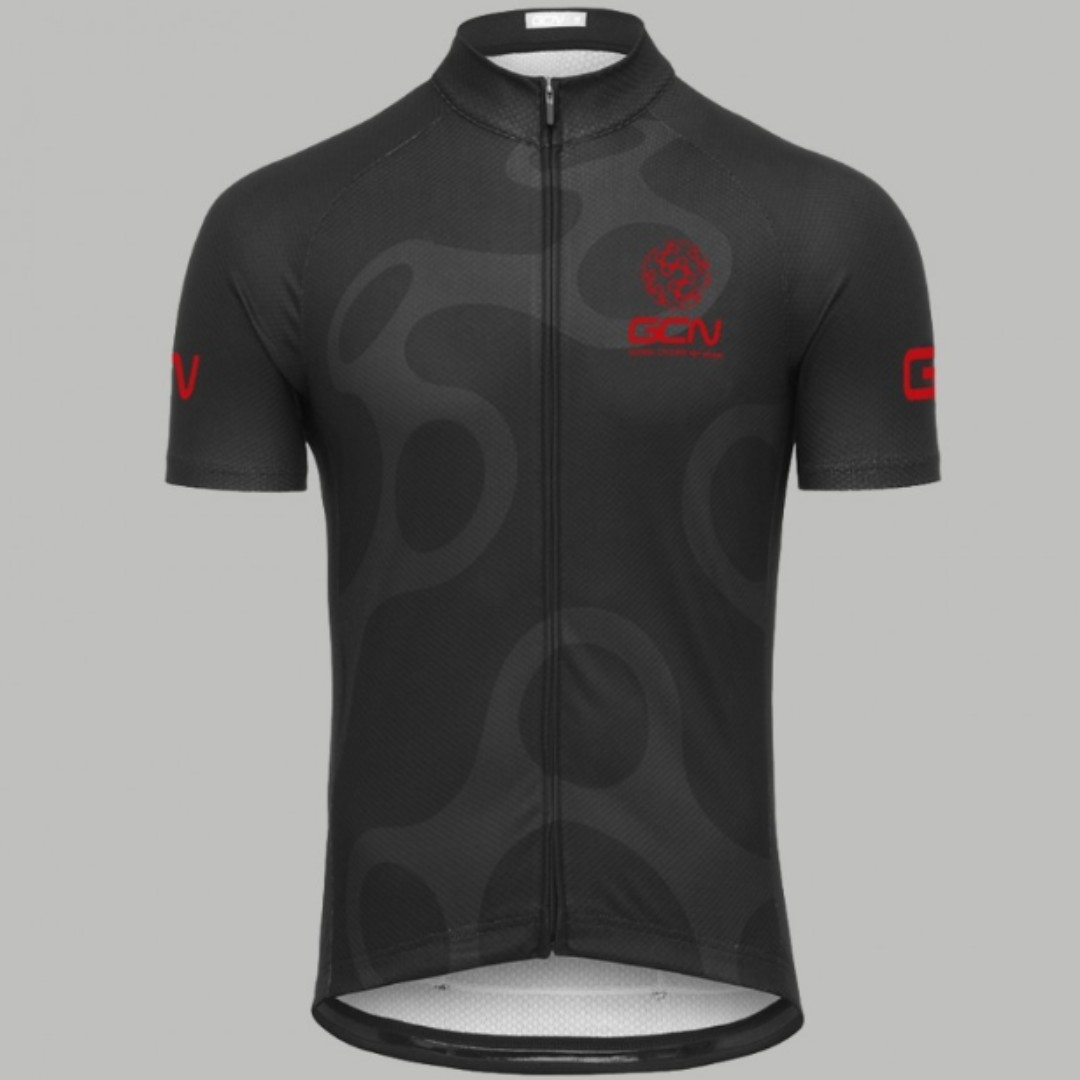 GCN Fan Kit Jersey Black and Red 0f223d3d1