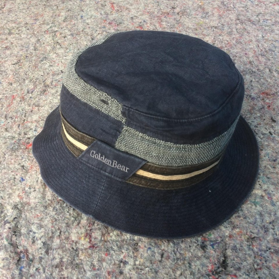 9273590a515c7 GOLDEN BEAR BY JACK NICKLAUS BUCKET HAT NAVY