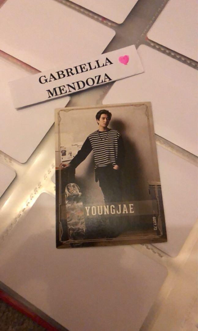 GOT7 Star Collection Card