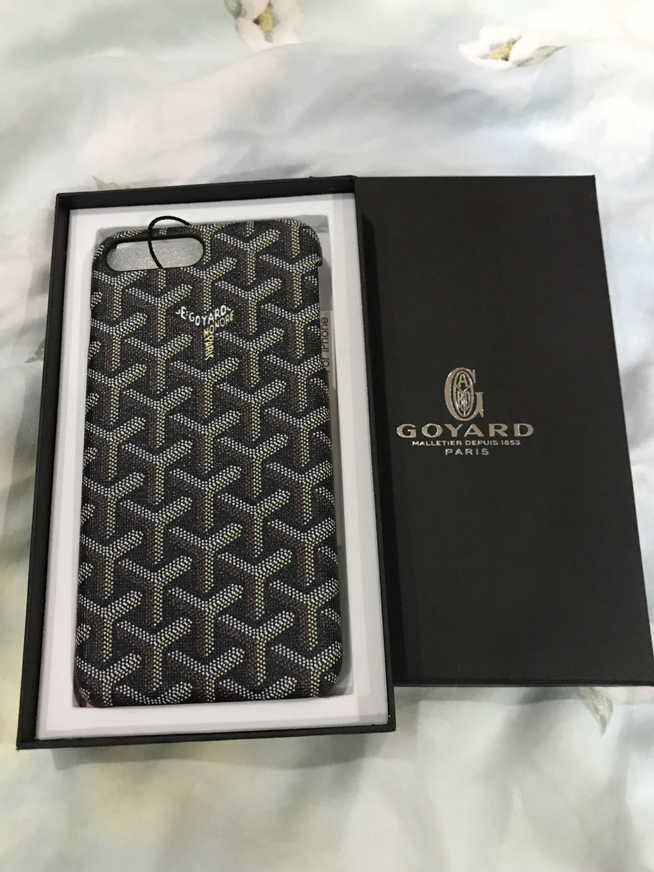 detailed look 9fd39 d9564 Goyard iPhone 7 plus - phone case