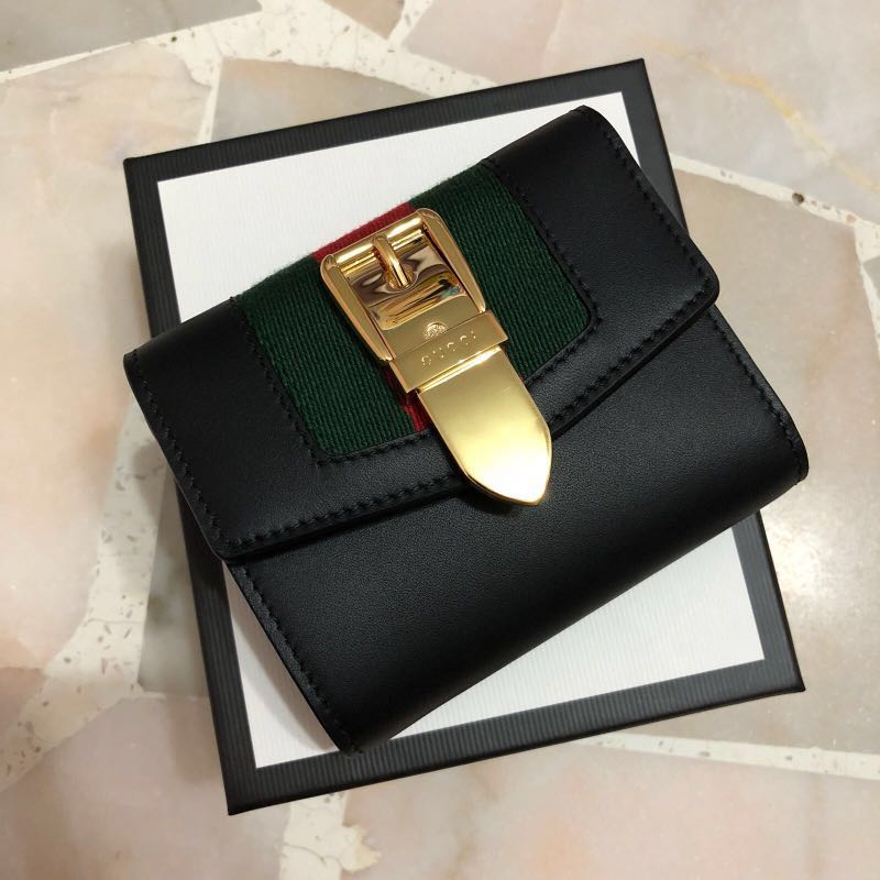 13e73ec12d14 GUCCI SYLVIE WALLET, Luxury, Bags & Wallets on Carousell