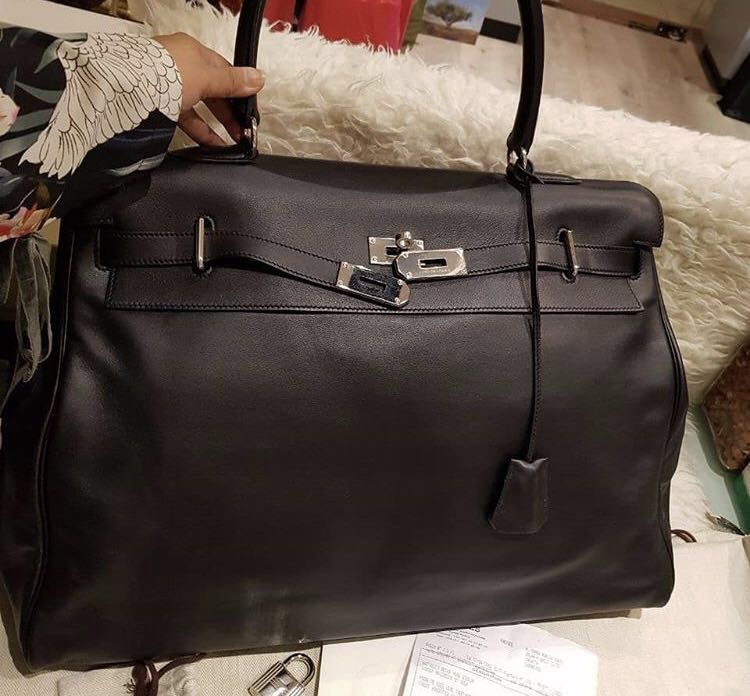 d544443af5d0 ... reduced hermes kelly relax 60cm with dustbag and receipt stamp p luxury  bags wallets on carousell