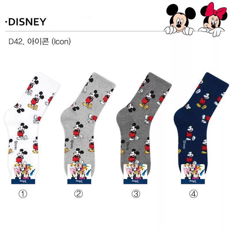 9591096c419 Iconic Socks Disney Mickey Mouse (Mid-Cut)