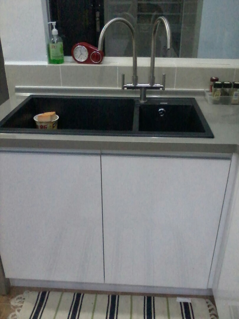 Kabinet Dapur Baiki Dan Pasang Sinki 01121298627 Services Home Renovations On Carou