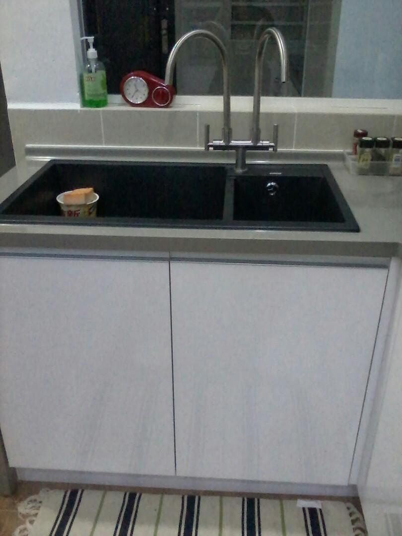 Kabinet Dapur Baiki Dan Pasang Sinki 01121298627 Services Home Renovations Di Carou