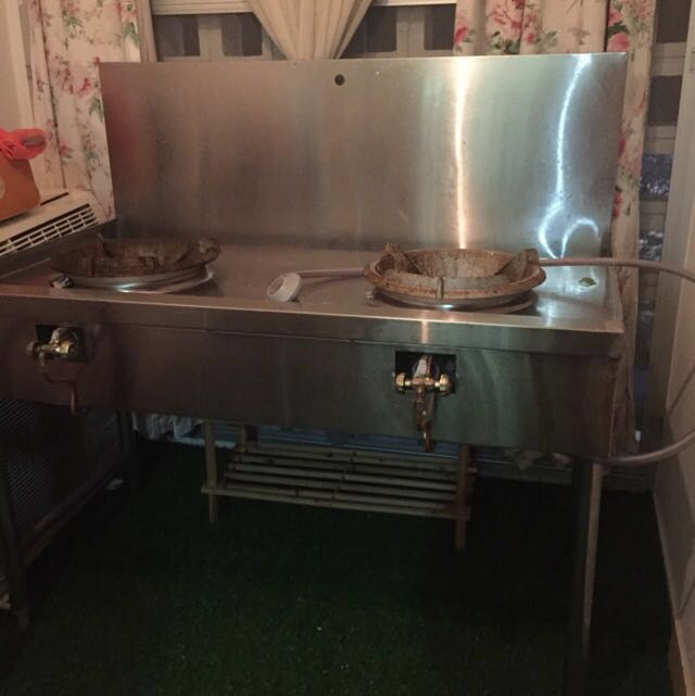 Kitchen Stove Dapur Masak Stainless Steel Liances On Carou