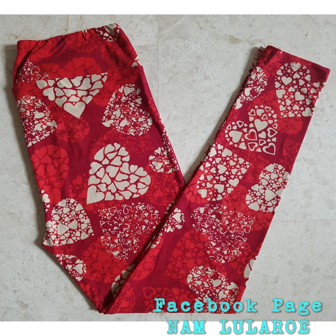 a6684562b2de4a Lularoe Tall & Curvy Leggings - Heart In Heart, Women's Fashion ...