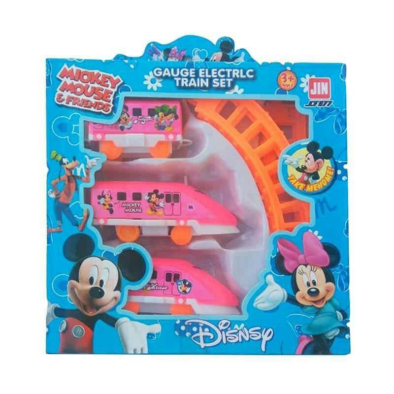 Mainan kereta api Mickey mouse