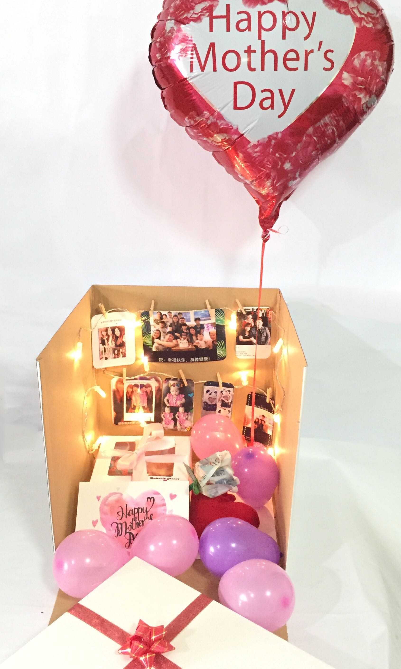 Mothers Day Surprise Gift In Box