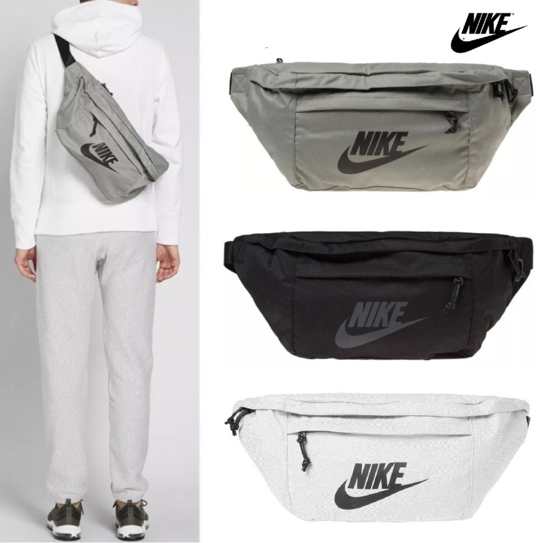 Nike Tech Hip Pack Fanny Bag Stucco Men S Fashion Bags Wallets On Carousell