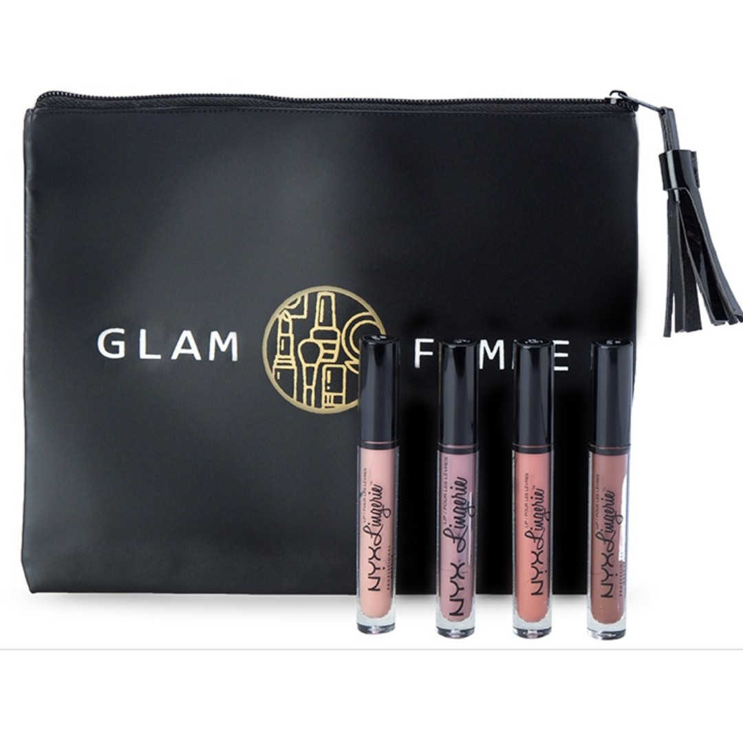 NYX Professional MakeUp Beauty Hack: Lip Lingerie Set