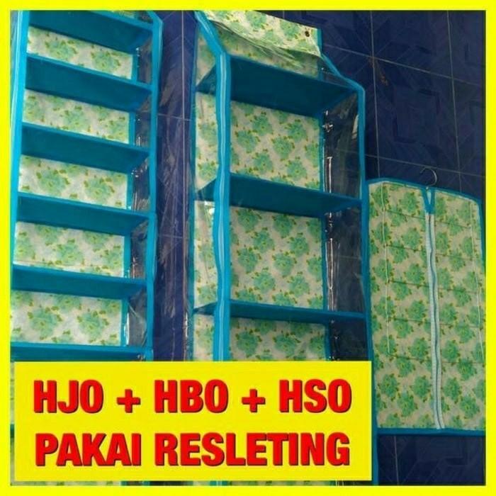 Rak Sepatu + Rak Tas + Rak Jilbab ( Gantungan 3 in 1), Home & Furniture on Carousell
