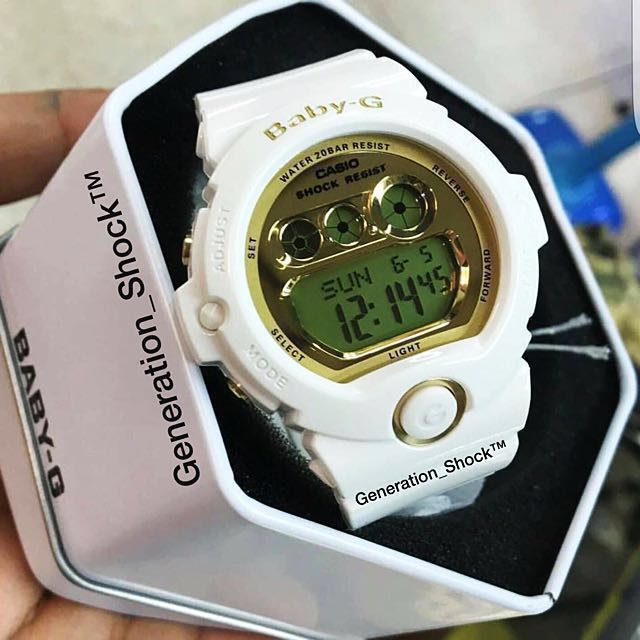 dea550a86489 RARE SEEN   1-YEAR OFFICIAL WARRANTY   100% ORIGINAL BABY-G-SHOCK ...