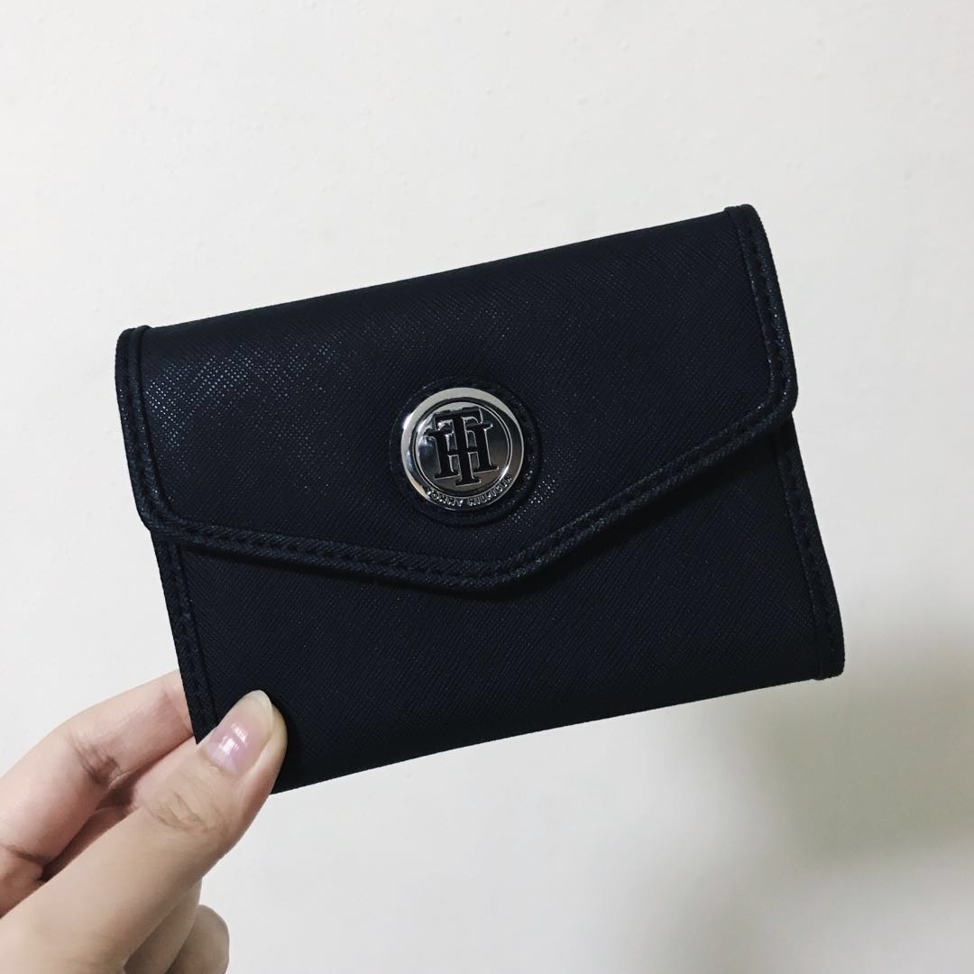 bb7c2c3e Tommy Hilfiger Women's Trifold Wallet, Women's Fashion, Bags & Wallets on  Carousell